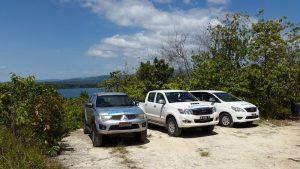 4x4 Bird Watching vehicles at Weda Resort