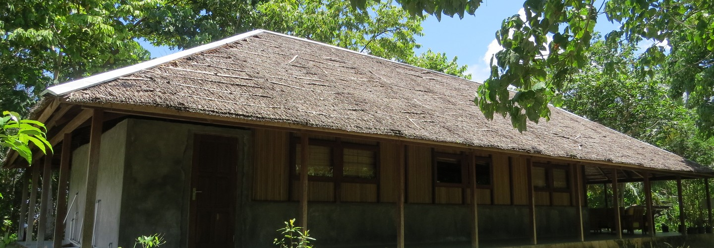 Longhouse from the side